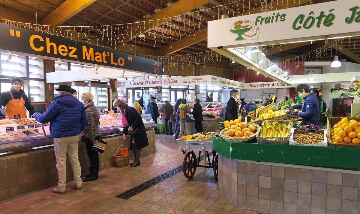 Les marchés de Dreux sont toujours en activité