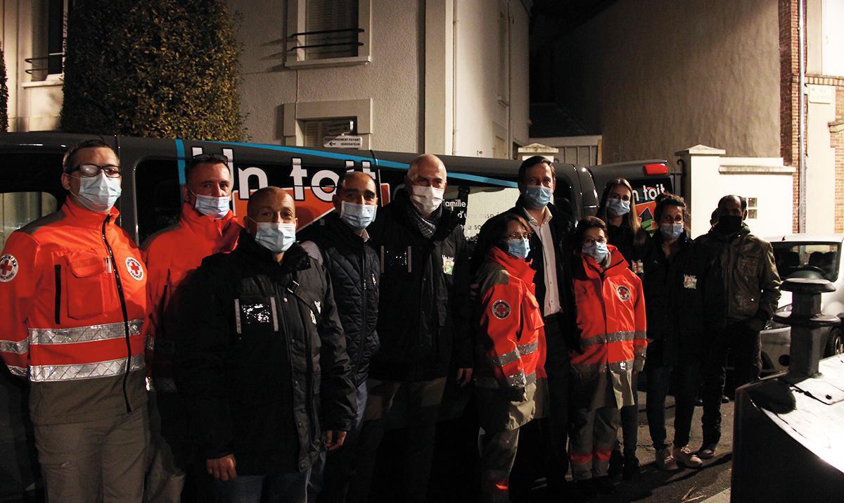 Maraudes à Dreux : ils veillent sur les plus démunis