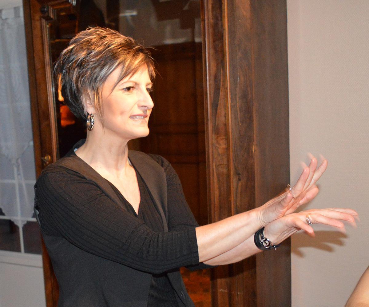 Langue des signes : Je comprends avec Nathalie