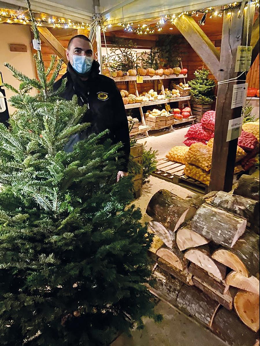 Noël rime avec merveilles aux Jardins d'Imbermais