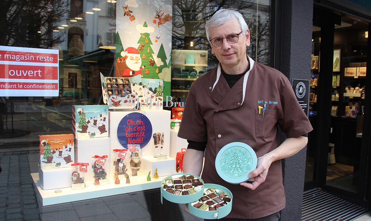 Jeff de Bruges : le chocolat incontournable en habit de fêtes