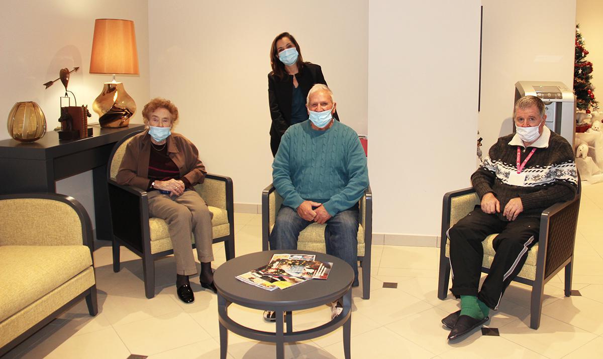 Des seniors comblés des services de la Résidence de l'Avre