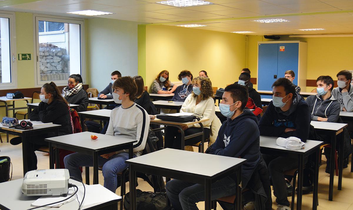 Les étudiants du lycée Horti-Pôle votent pour le Prix Liberté
