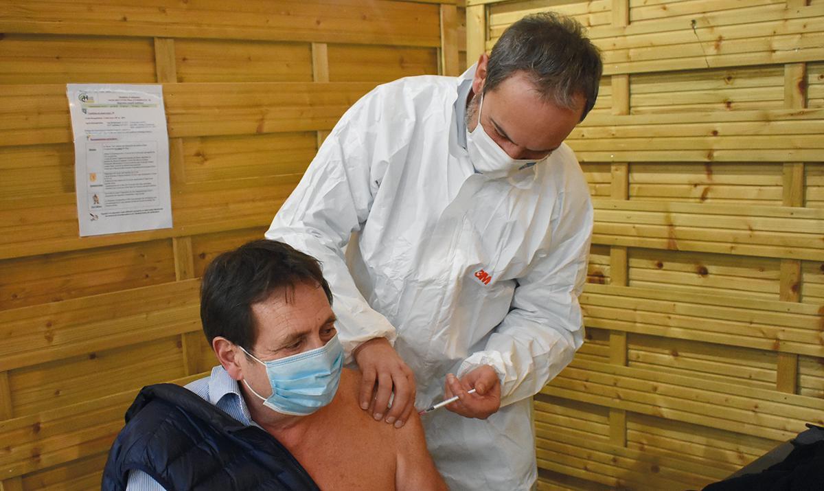 Évreux : le centre de vaccination fonctionne au ralenti