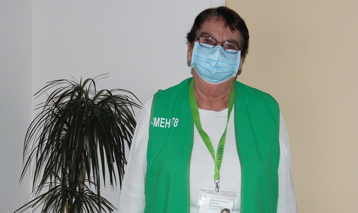 Micheline Larson, une bénévole VMEH