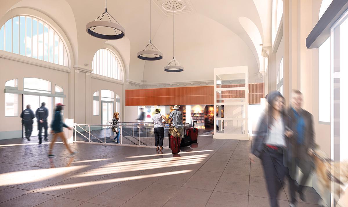 Les travaux de la gare entrent en deuxième phase