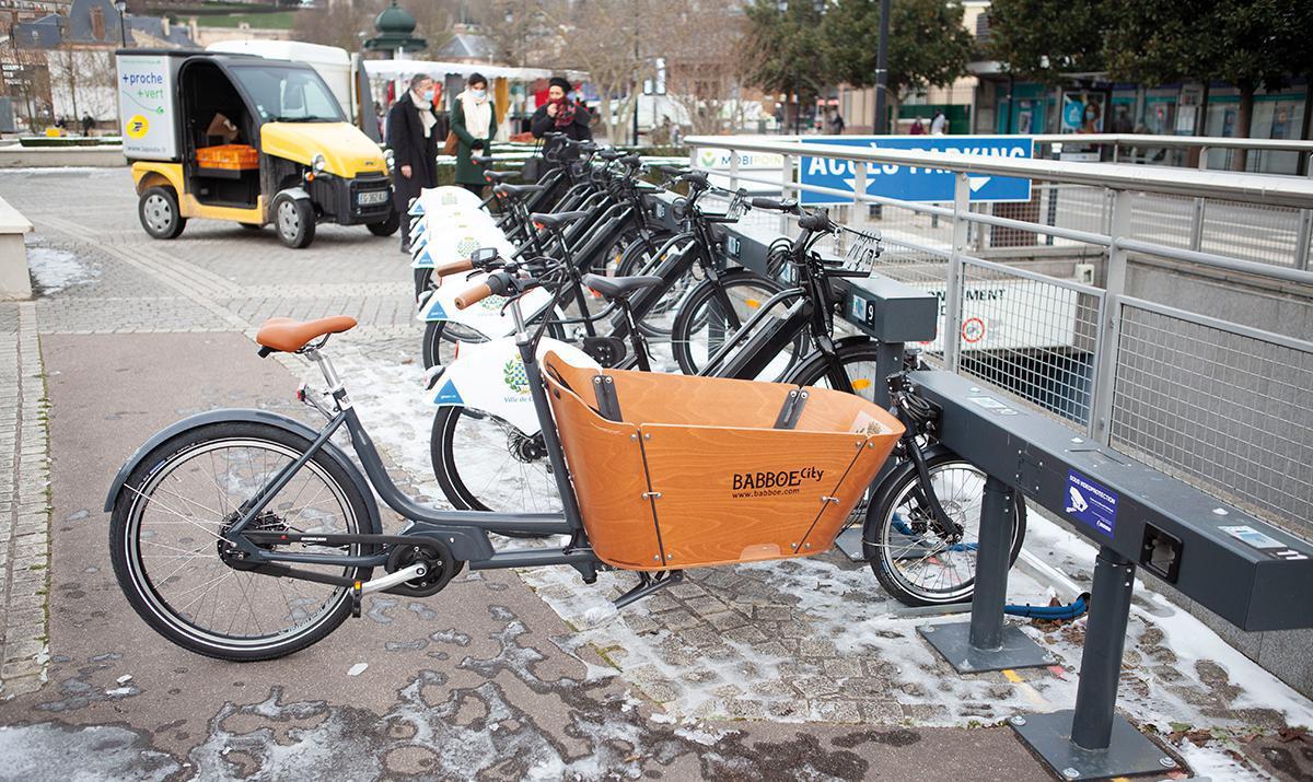 Des vélos de location en libre-service à Dreux