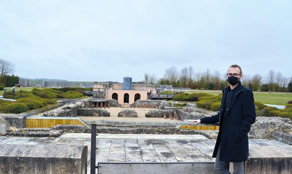 Réouverture du jardin archéologique de Gisacum