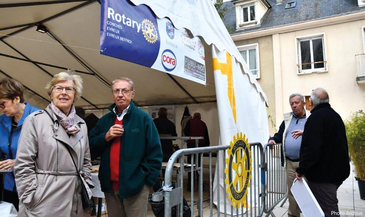 Le Rotary Club : beaucoup d'actions de proximité