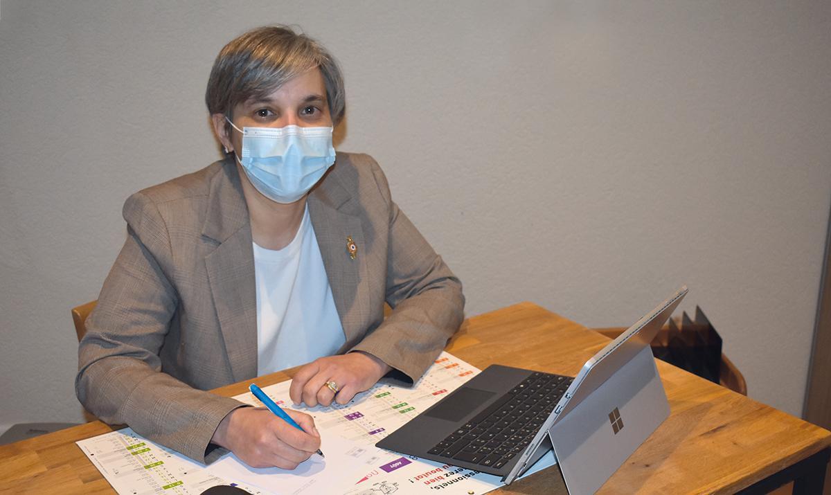 Séverine Gipson : priorité à la gestion de la Covid-19