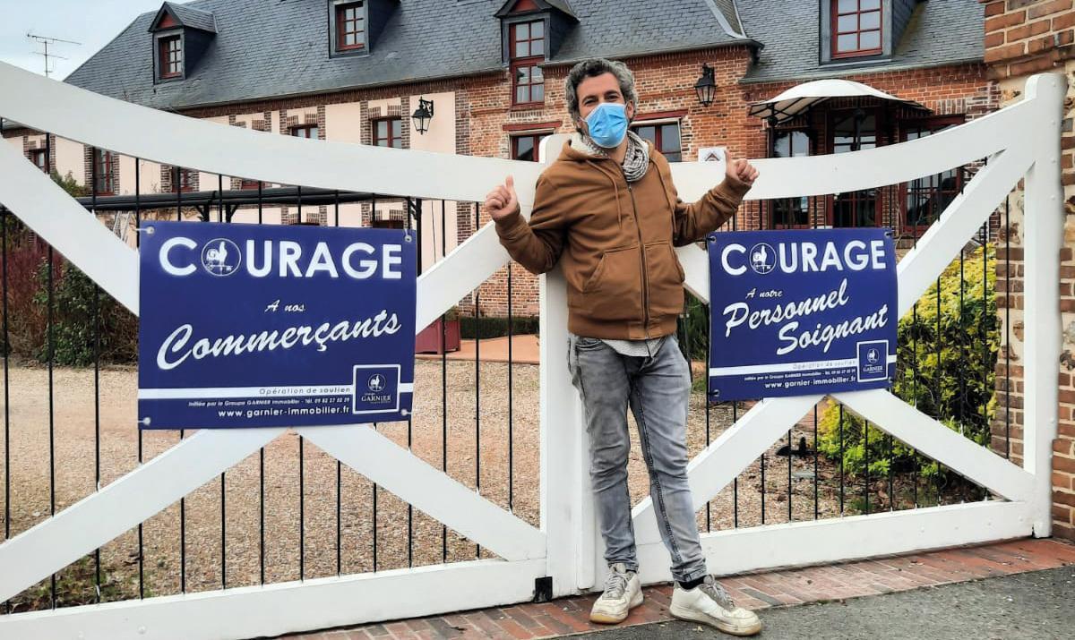 Le Groupe Garnier immobilier redonne du courage aux « oubliés de la crise »