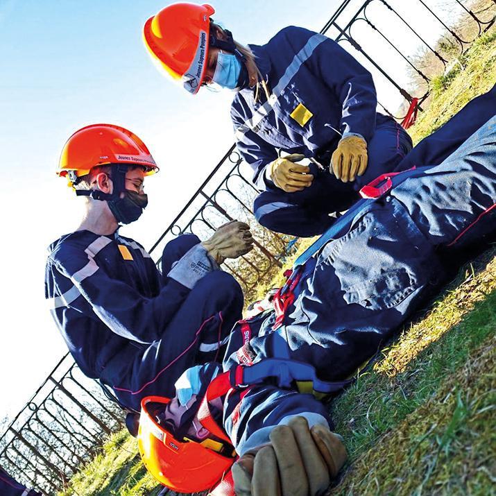 Jeunes Sapeurs-Pompiers, un engagement véritable à l'école de la vie