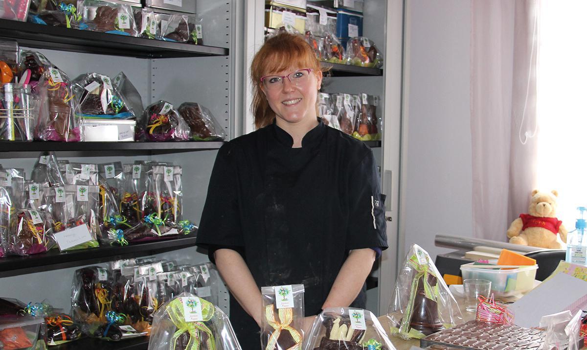 Anaïs Poyer a reçu le chocolat en héritage