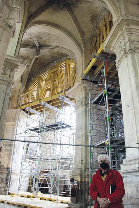 D'importants travaux à l'étude pour restaurer l'église