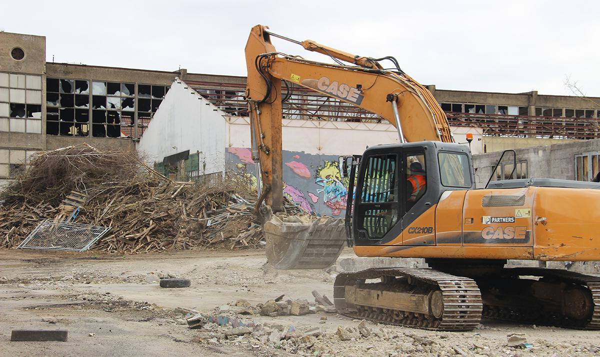 La friche De Maville se transforme en éco-quartier