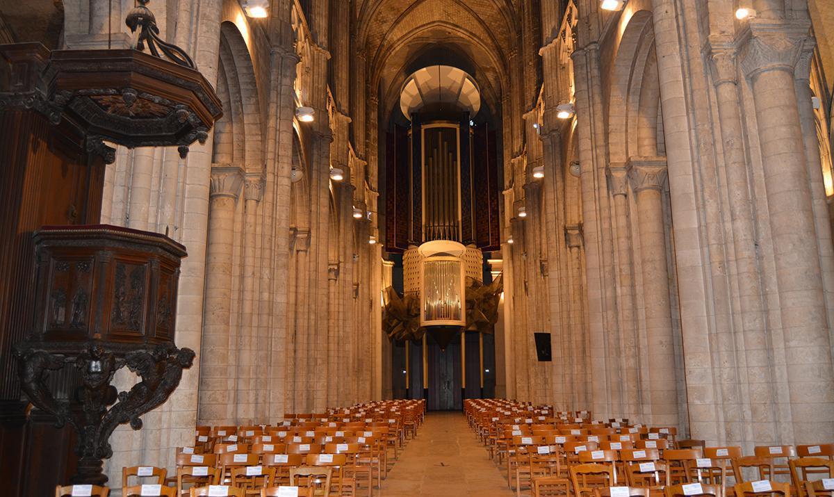 La cathédrale Notre-Dame d'Évreux, melting pot architectural