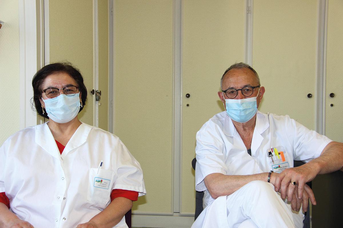 Le docteur Houria Midoun prend en charge l'USP de Houdan
