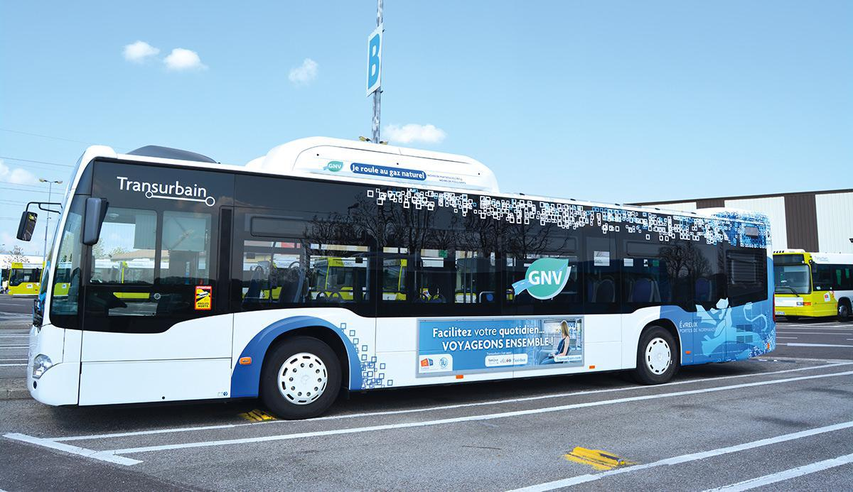 Quatre nouveaux bus au gaz naturel chez TransUrbain