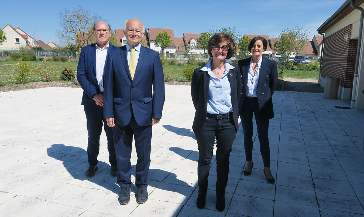Christelle Minard et Xavier Nicolas en binôme pour le canton de Saint-Lubin-des-Joncherets