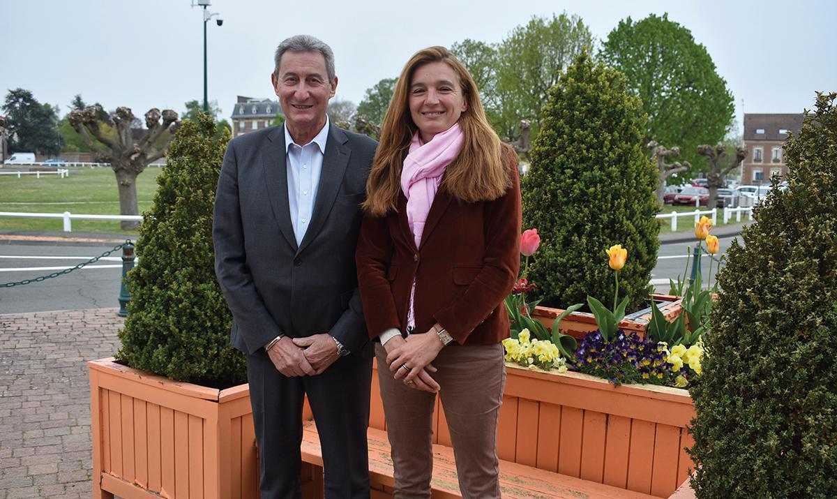 Le binôme Sylvain Boreggio et Julie Desplat en lice
