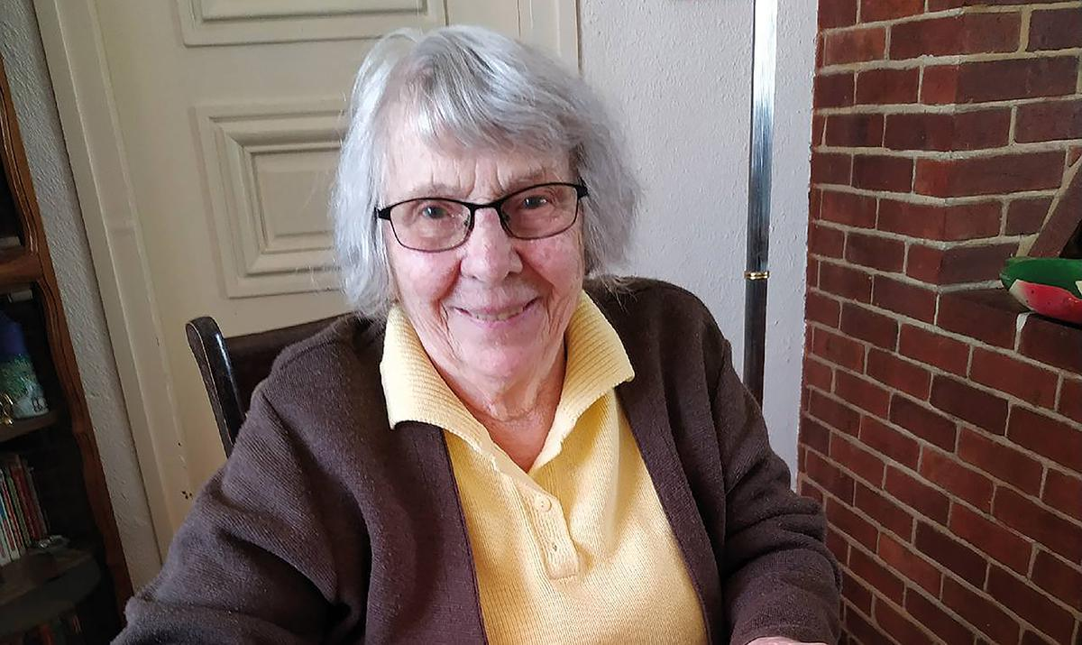 Blanche Cérézo, la doyenne du village a 103 ans