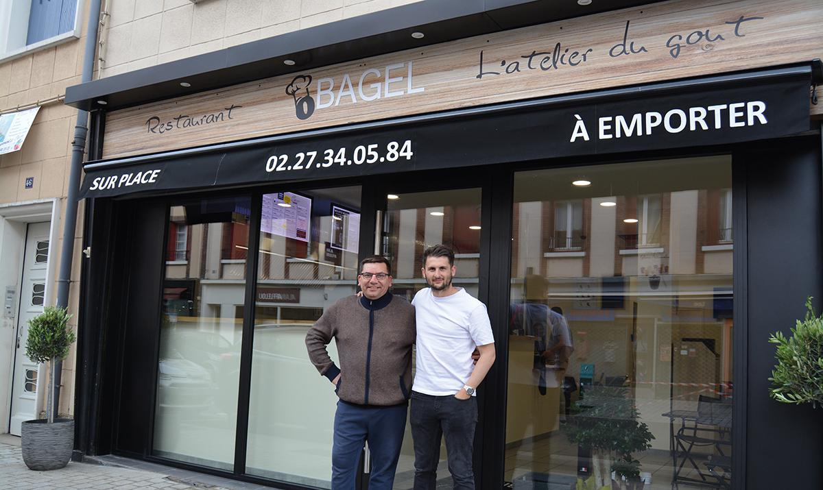 O'Bagel, une nouvelle enseigne en centre-ville d'Évreux