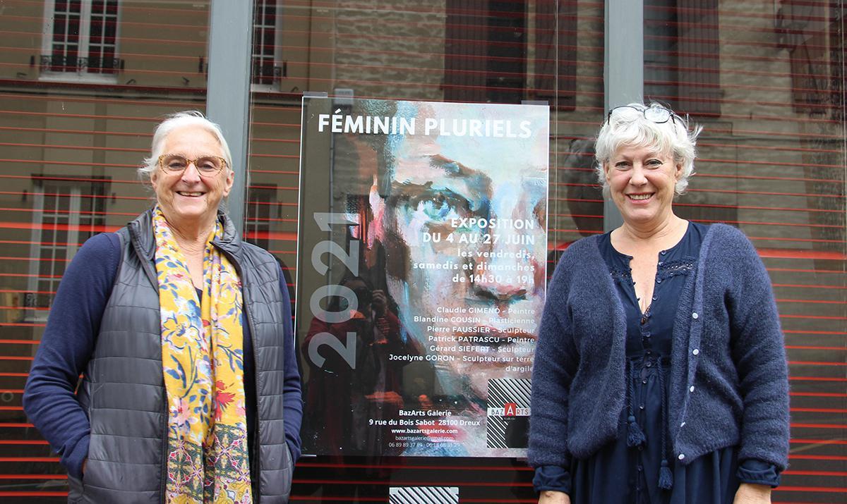BazArts Galerie expose Féminin Pluriels du 4 au 27 juin