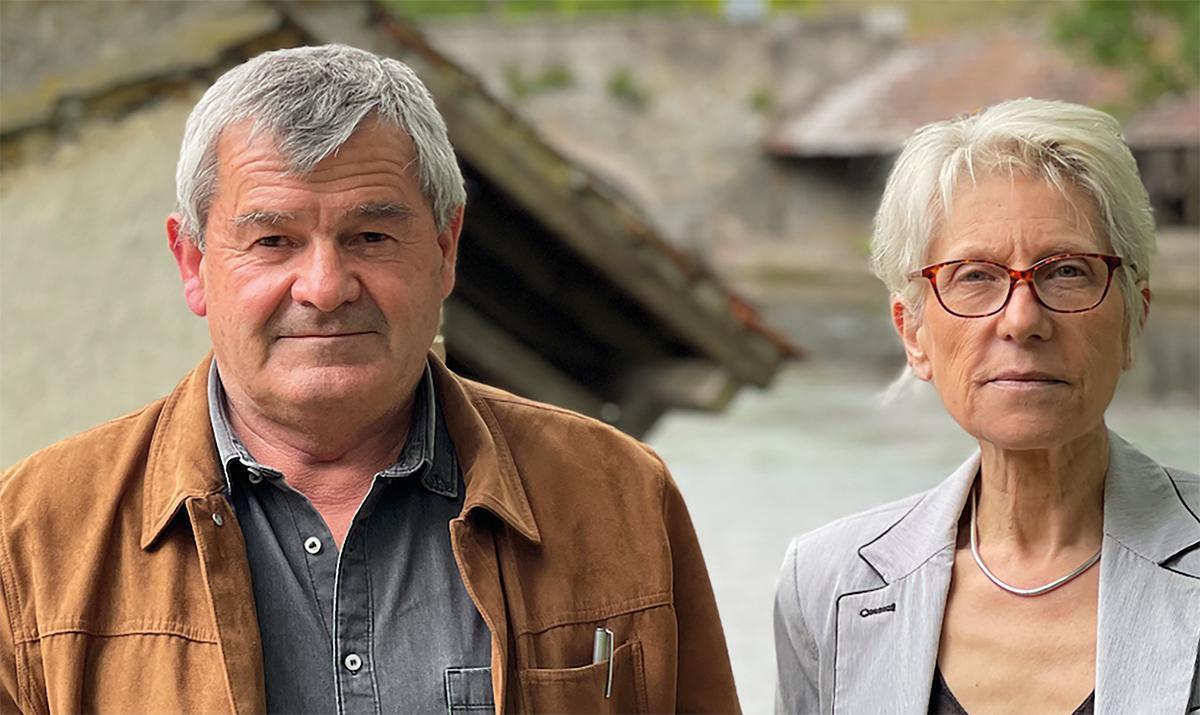 Canton de Dreux 1 : Silvio Bortolussi et Pascale Brucker