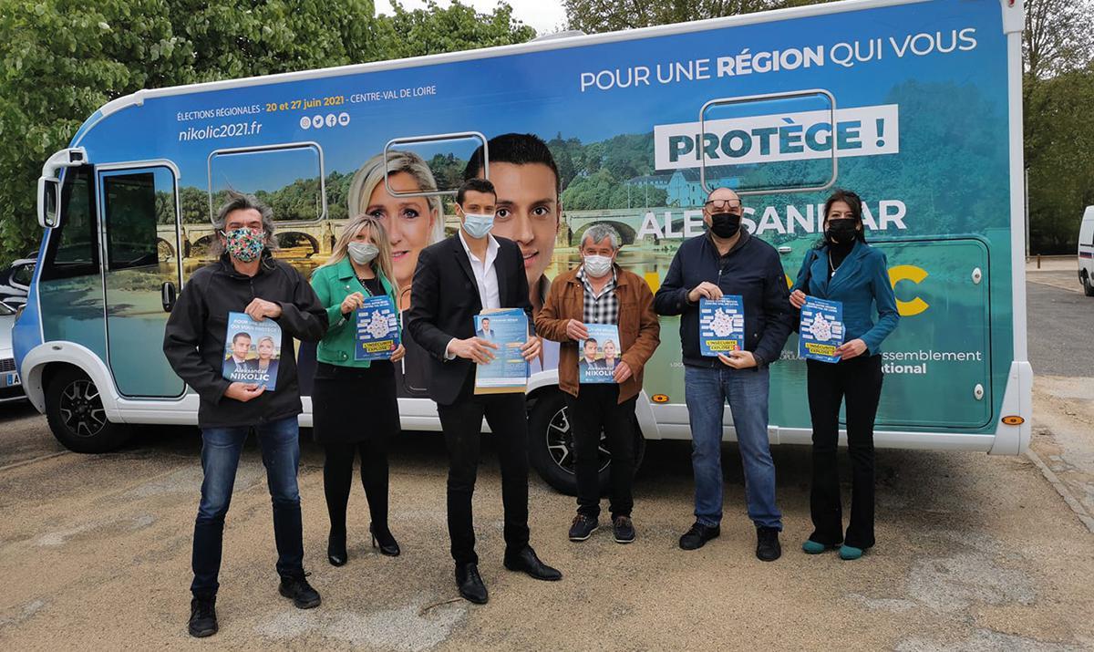 Élections régionales : le RN se veut comme la seule alternative à la gauche
