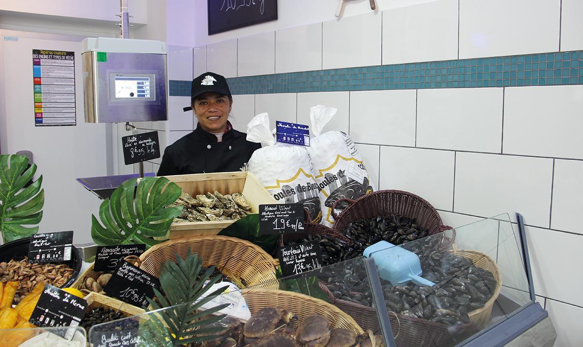 Vaa du pêcheur spécialisé dans les produits de la mer