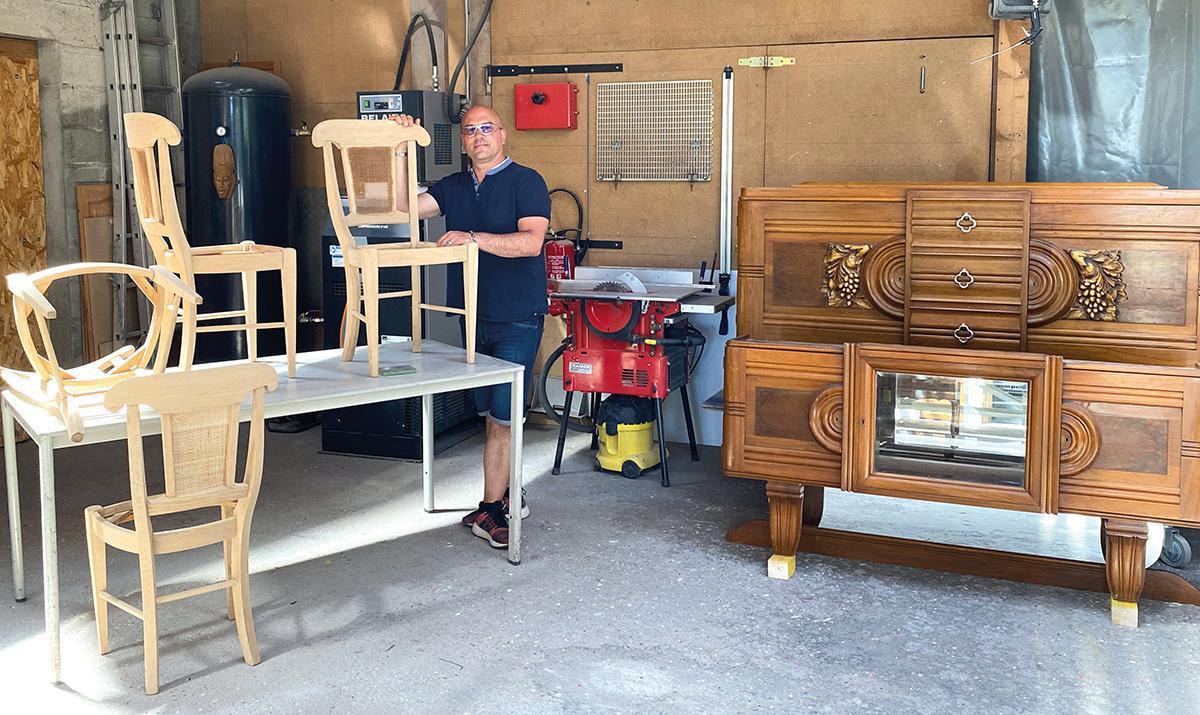 Déco'Gomm, une seconde vie pour les meubles en bois