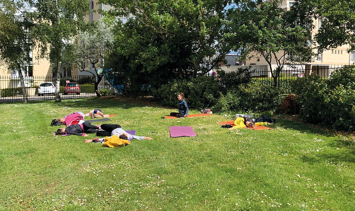 Et si vous pratiquiez le yoga en plein air ?