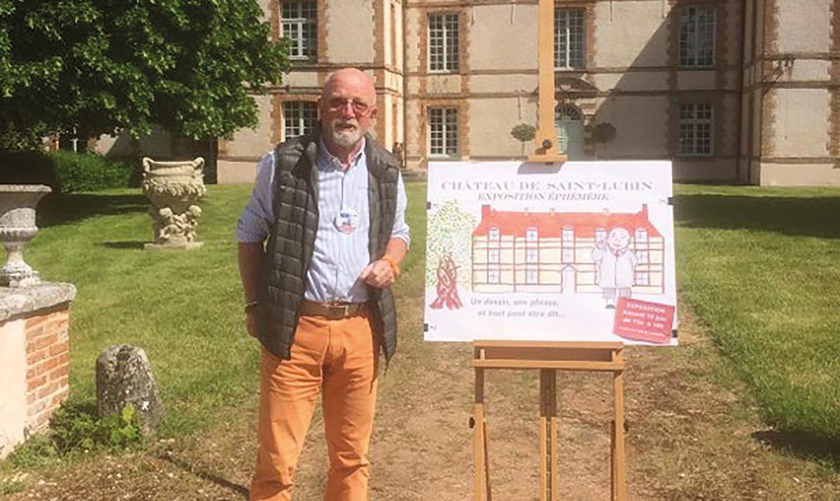 Jean-Marie Pillet expose ses dessins pour VIVAVRE