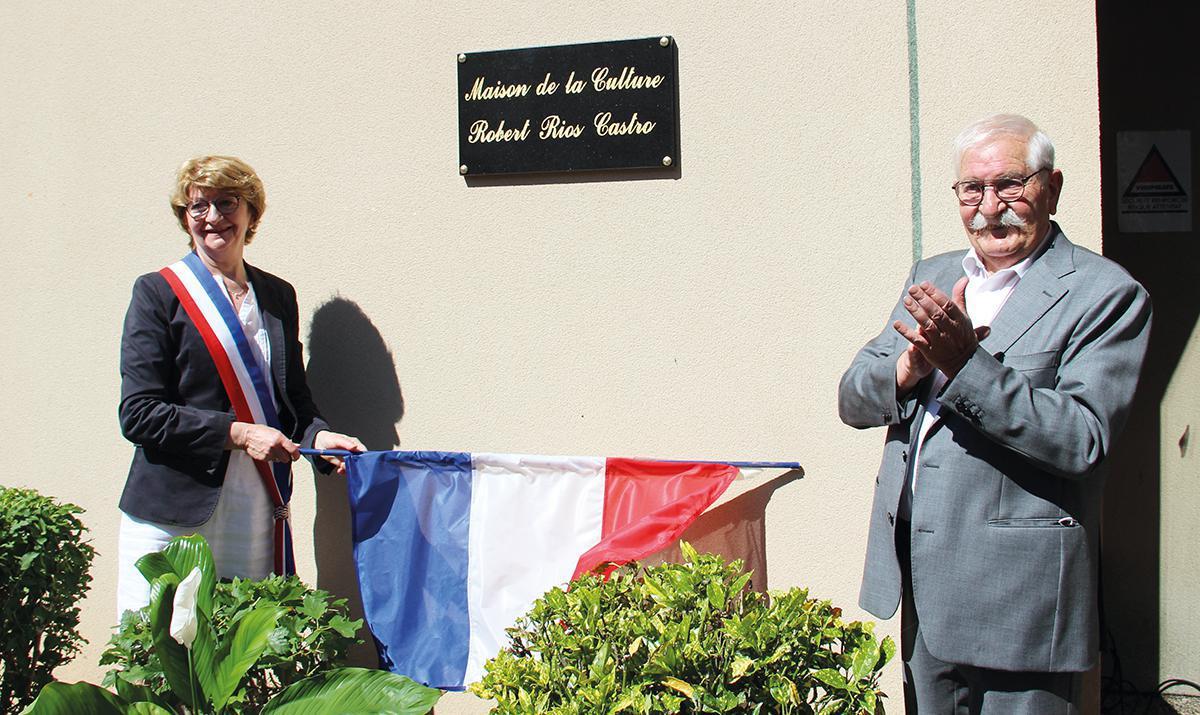 La Maison de la Culture porte le nom de Robert Rios Castro