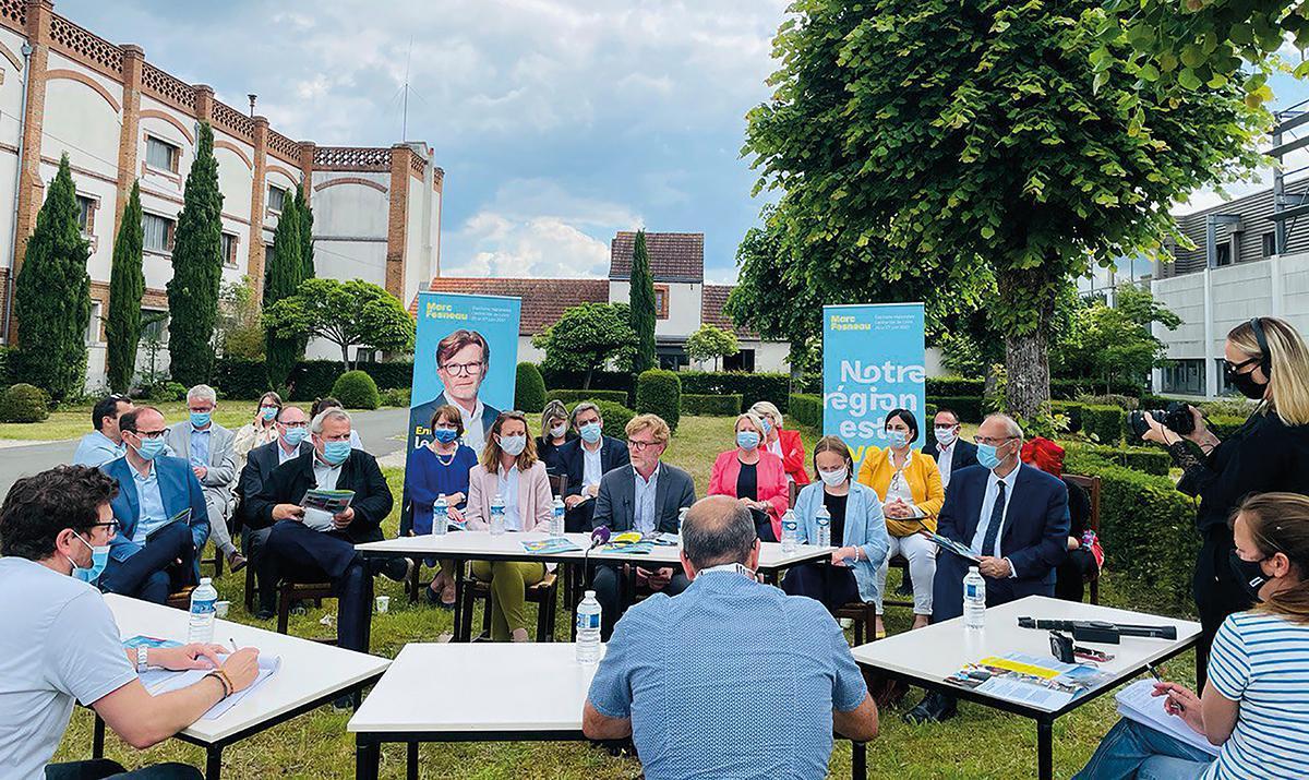 Marc Fesneau est soutenu par la majorité présidentielle