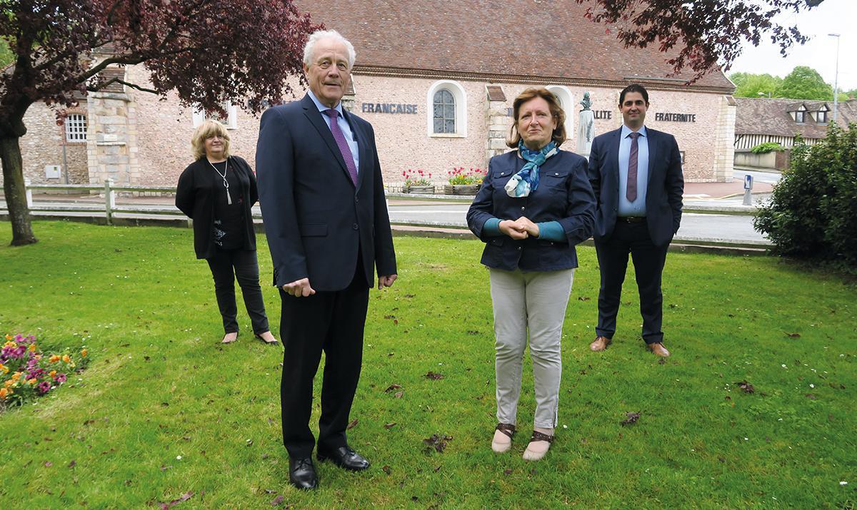 Jean-Michel Poisson et Evelyne Chiapperin sur le canton de Dreux 1