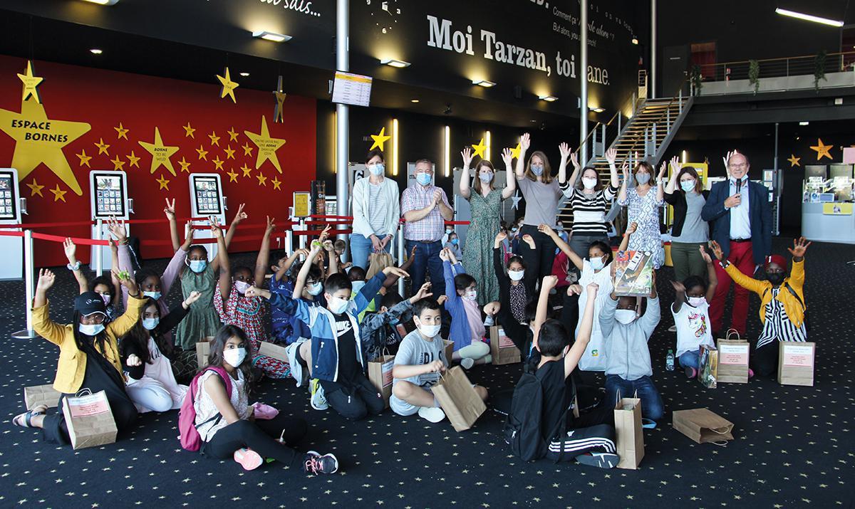Les écoliers participent au programme Mission Zéro Déchet