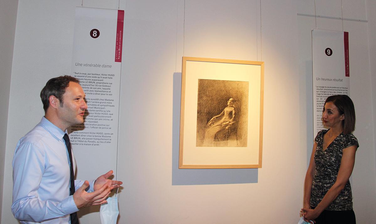 Victor Hugo en goguette s'expose au musée