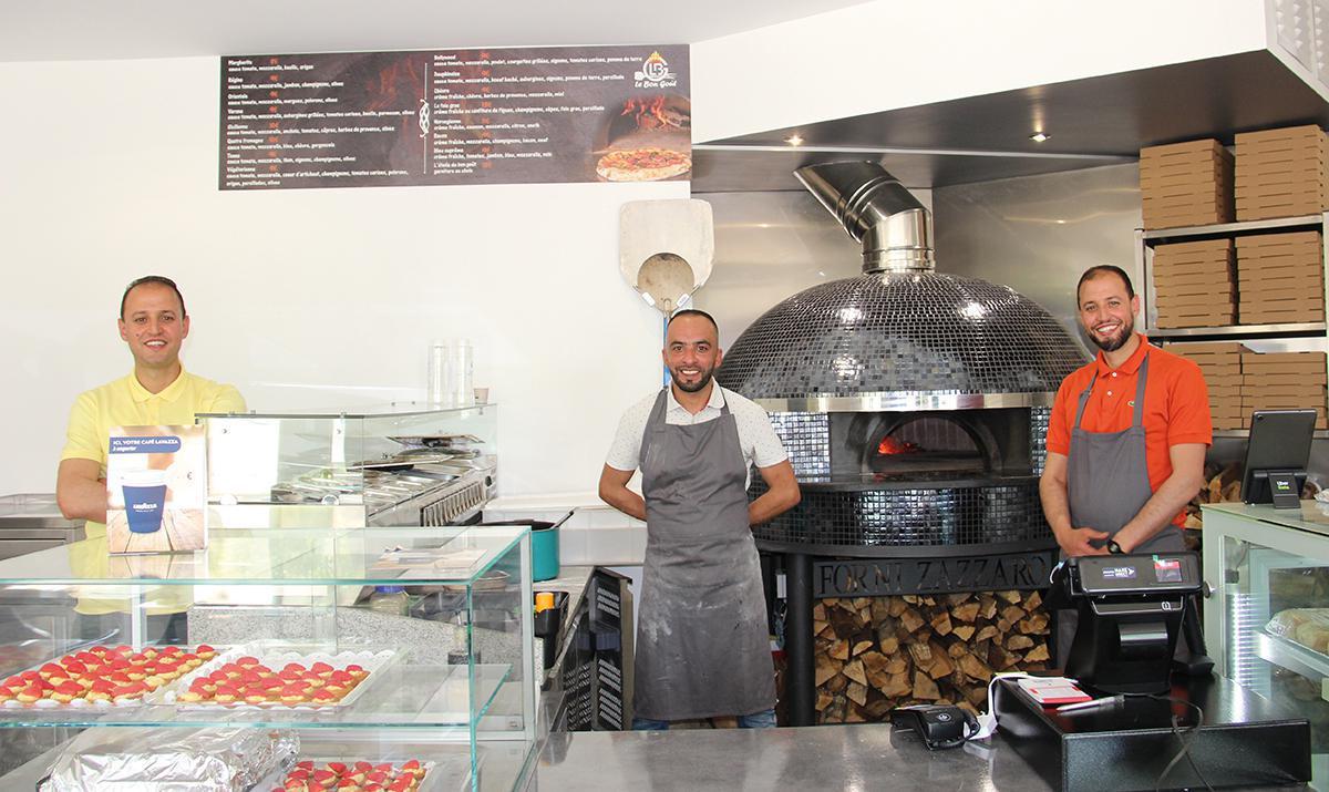 Le Bon goût une nouvelle pizzeria face à la gare