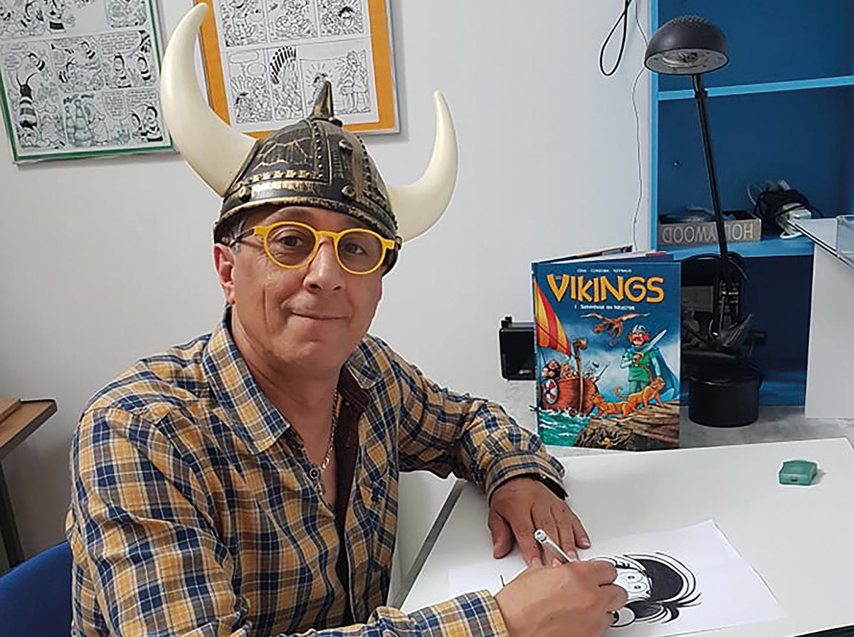 Juan-Maria Cordoba, Viking du festival BD