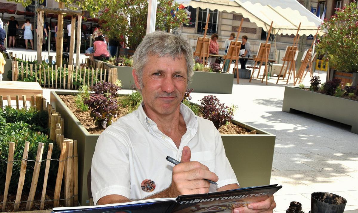 Pierre Taranzano, « La BD fait partie de ma vie depuis que je suis petit »