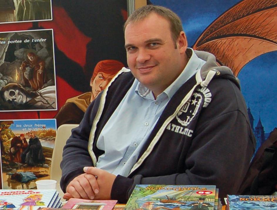Raphaël Tanguy : « J'ai créé mon propre salon de la BD pour ne pas avoir à faire des kilomètres ! »