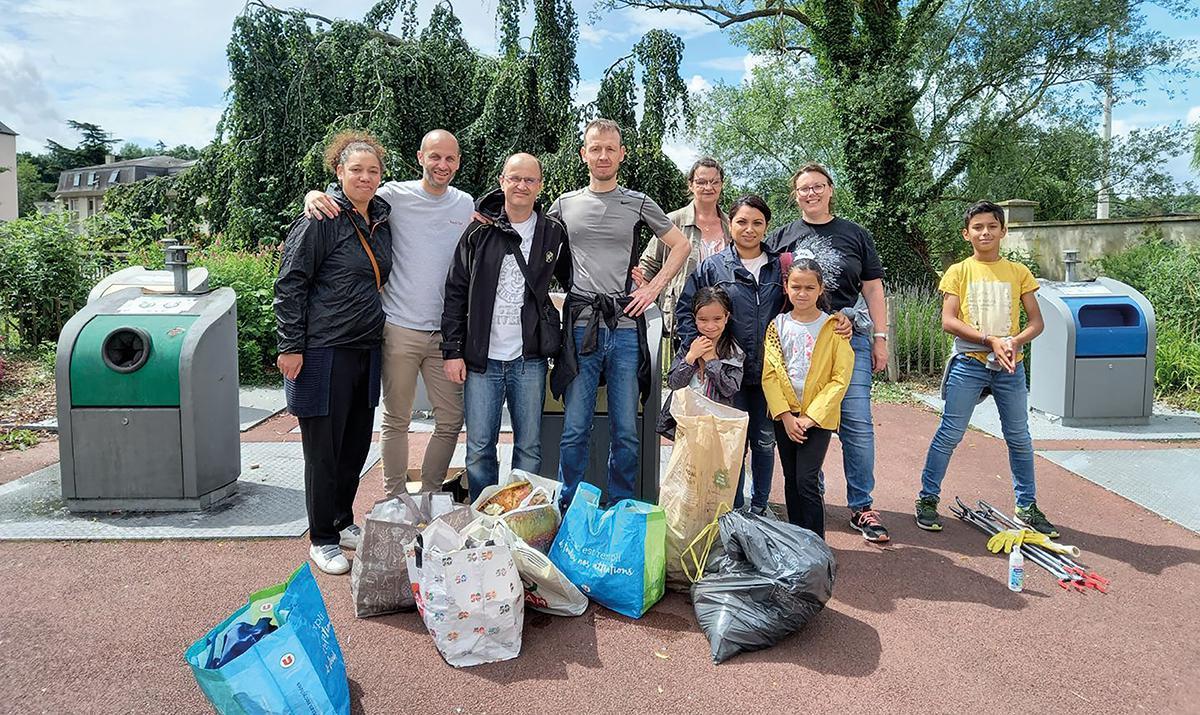 16 kg de déchets en moins dans la ville