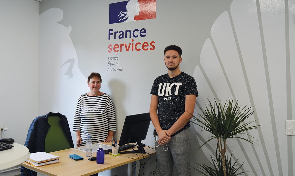 Ouverture de la Maison France Services