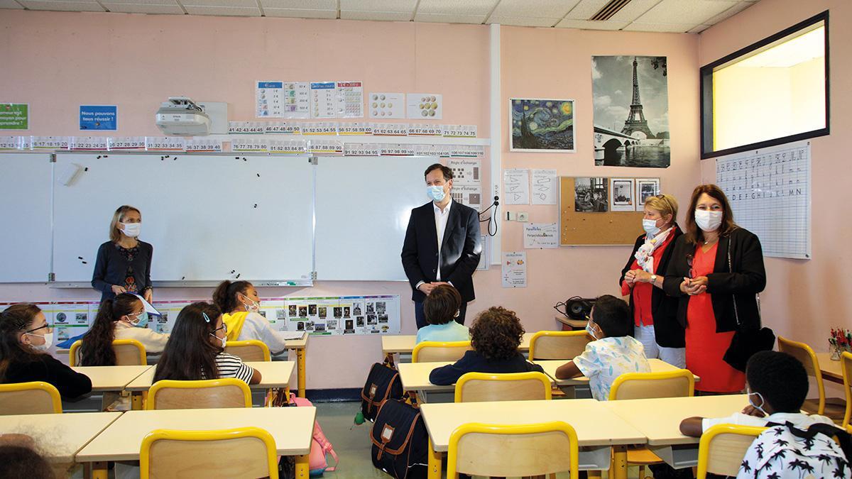 Une nouvelle directrice à l'école Saint-Martin