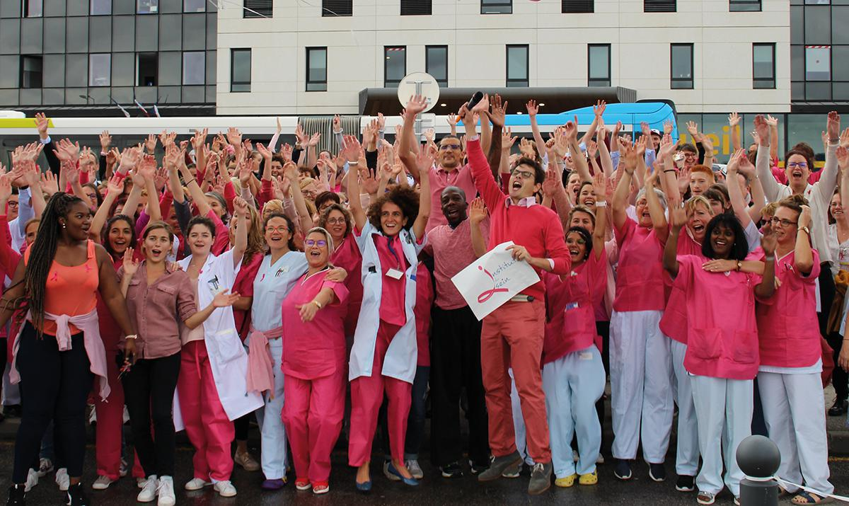 Octobre Rose « Ensemble contre le cancer du sein »