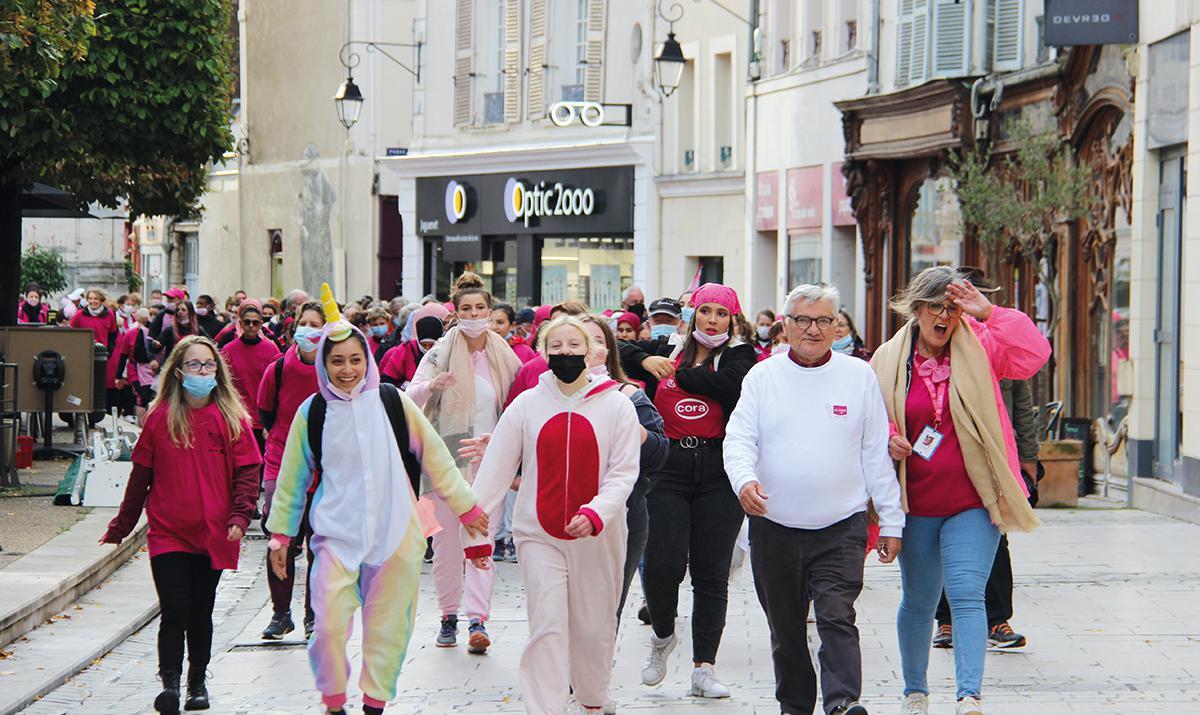 La marche rose réunit plus de 420 participants