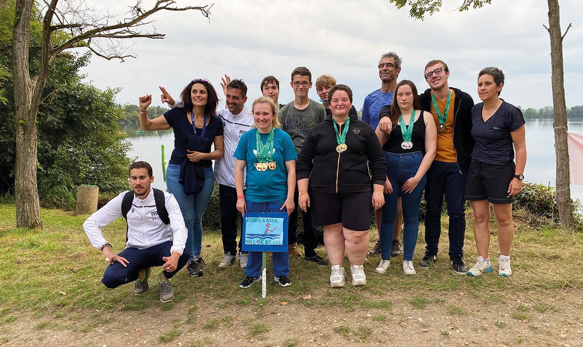 Les jeunes de l'IMPRO aux championnats de France de kayak
