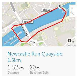 Newcastle Run 1.5km