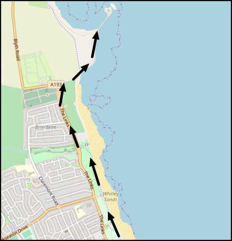 Whitley Bay Cycle